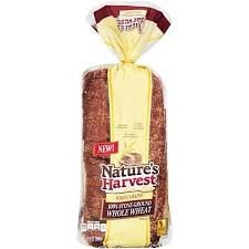 nature s harvest stone ground 100 whole wheat best bread