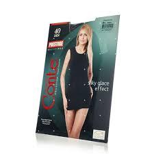 <b>Женские колготки Conte Prestige</b> 40den Nero 4 размер купить с ...