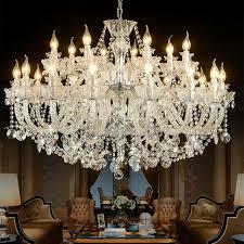 large crystal chandelier ceiling light