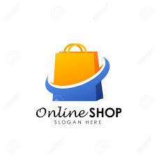 Free Logo Design Online Online Shop Logo Design Vector Icon Shopping Logo Design