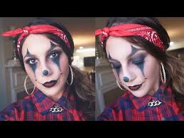 chola clown makeup for hallowen costum udaf