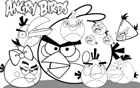Getting Angry Birds Space Coloring Pages — ALLMADECINE Weddings