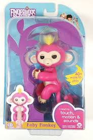 NEW Fingerlings BELLA Pink Interactive Pet Toy Baby Monkey by WowWee ...