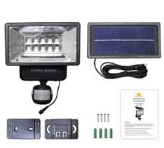 Gama Sonic Solar Security Light Gama Sonic Solar Outdoor Security Light With Motion Sensors