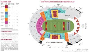 Ducks Football Seating Chart Usc Trojans Football 2019 Season Tickets
