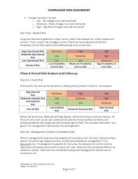 Compliance Manual Template