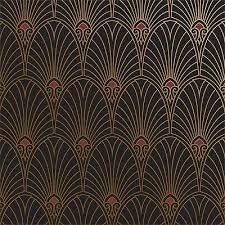 art deco wallpaper borders
