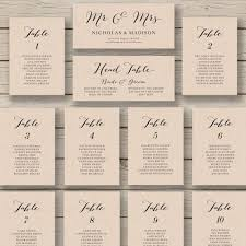 In Free Wedding Reception Seating Chart Template 17