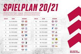 Liga, regionalligen, nationalmannschaft, em 2020, europäische ligen, champions league und el gratis für outlook. Bundesliga Spielplan 2020 2021