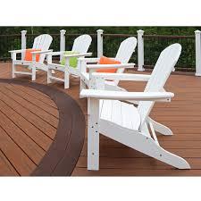 Trex Outdoor Furniture Cape Cod Adirondack Chair Set of 4