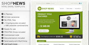 30+ Free and Premium HTML Email Newsletter Templates for Online ...