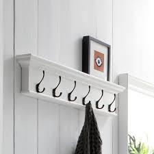 6 Hook Coat Rack Beachcrest Home Amityville 100 Hook Coat Rack Reviews Wayfair 6