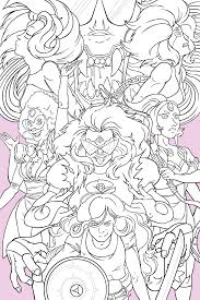 Steven Universe Coloring Pages Fusions