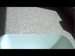 pionite laminate countertop with undermount karran sink installed