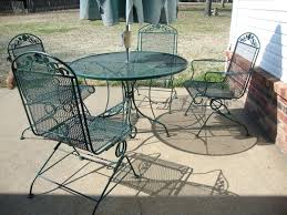 awesome patio furniture adorable spray painted patio furniture of metal wire mesh outdoor chairs and tall