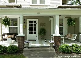 interior elegant front porch design with christmas front porch