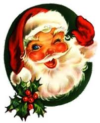Image result for vintage santa