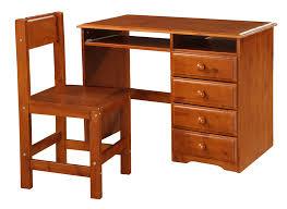 oak student s desk