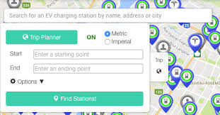 Trip Charge Calculator Plan Your Route When You Drive Your Electric Car Chargehub
