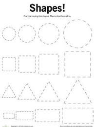 Small Picture Printable Shapes printable Shapes coloring pages and sheets can