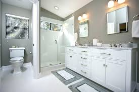 white and gray bathroom ideas. Likeable Bathroom Plans: Enthralling Best 25 Grey White Bathrooms Ideas On Pinterest Gray And I