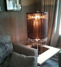 floor lighting chandelier swith floor lighting ideas. Modern Crystal Chandelier Floor Lamp Black, Urban Barn, Lighting Swith Ideas