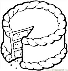 Small Picture Creamy Cake Coloring Page Free Desserts Coloring Pages