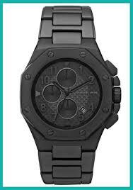 michael kors mens black ion chronograph calendar watch mk 8198 michael kors mens black ion chronograph calendar watch mk 8198 new
