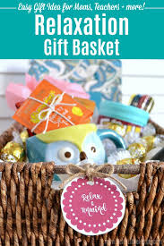 how to make a diy relaxation gift basket easy tips tutorial this creative