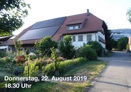 Anlässe Fraktion Grüne Kanton Solothurn