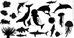 魚のシルエット ベクター ベクター動物 無料ベクターします 無料