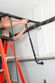 genie garage door repairGarage How To Repair A Garage Door  Home Garage Ideas