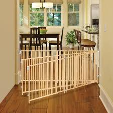 north state natural wood extra wide swing baby gate 60 103 com