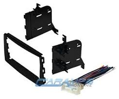 new double 2 din car stereo dash install kit w wiring harness image is loading new double 2 din car stereo dash install