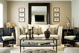 leaning mirror behind sofa couch decor red ideas design dilemma space above