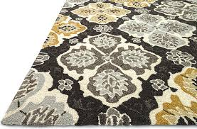 loloi rugs francesca charcoal multi transitional hand hooked rug