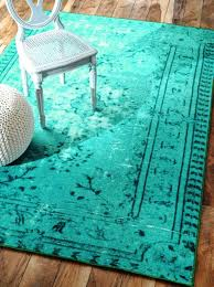 teal overdyed rugs