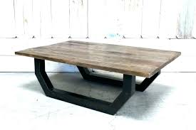 coffee table metal legs coffee table metal legs metal top coffee table custom wood top coffee