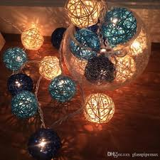 Decorative Cane Balls Extraordinary Twinkle Light Christmas Decoration Cane Ball Handmade Lamp Cafe