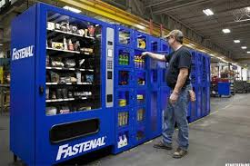 Grainger Industrial Vending Machines Enchanting Fastenal Is Focusing On Higher Sales To Boost Share Price TheStreet