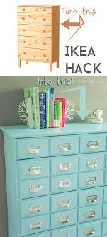 ikea hack tarva dresser diy. IKEA Hack: Tarva Dresser Turned Into A Library Card Catalog. Ikea Hack Diy