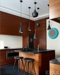 Kitchen design lighting Industrial Elle Decor 48 Best Kitchen Lighting Fixtures Kitchen Light Ideas