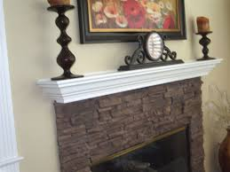 white lacquer fireplace mantel