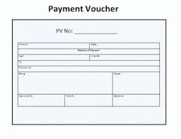Payment Voucher Template Voucher Template Free Resume