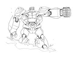 Transformers 115 Super H Ros Coloriages Imprimer