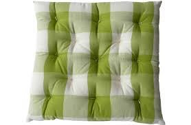 ... Beautiful Green Chair Cushion And Gingham Seat Pads Large Check  Cushions Buffalo Centralazdining