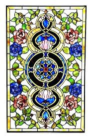 stained glass window panels for roses panel panes pane antique art windows s tools