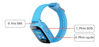 Đồng hồ thông minh trẻ em MyKID_B1 Màu xanh