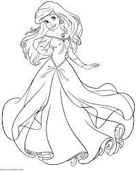 Princess Cinderella Coloring Pages Free Coloring Pages Printable