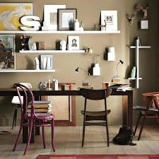 home office furniture ideas. Office Wall Shelves Creative Home Furniture Ideas White Floating Decorating E